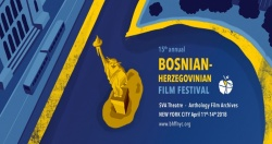 Program announced for The Fifteenth Annual Bosnian-Herzegovinian Film Festival in New York City